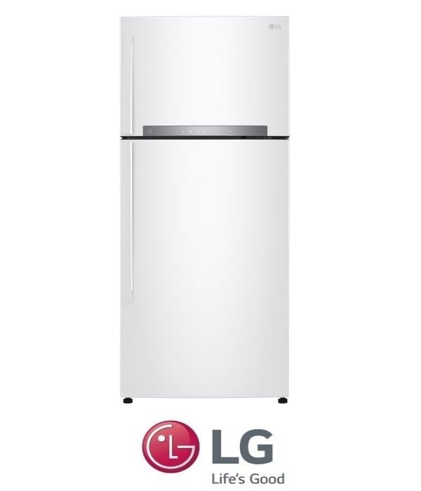 LG מקרר מקפיא עליון  דגם GR-M6480W לבן מתצוגה !
