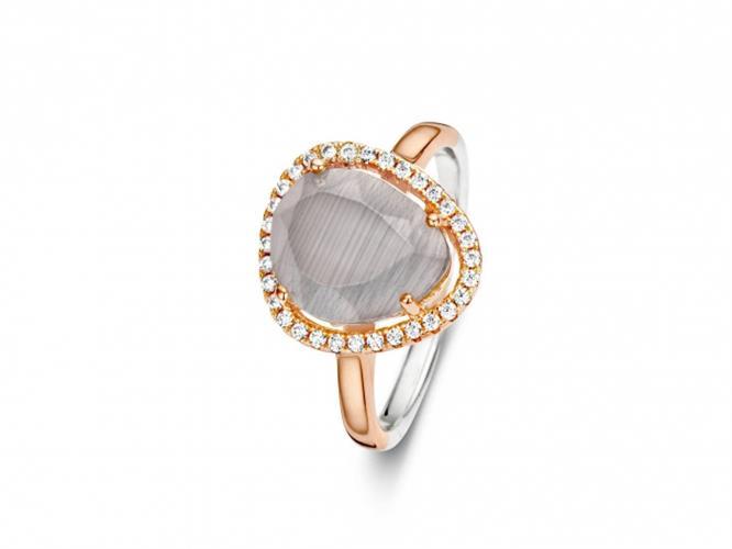 טבעת כסף 925 R6302-BR