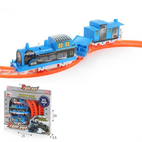רכבת חשמלית עם מסילה