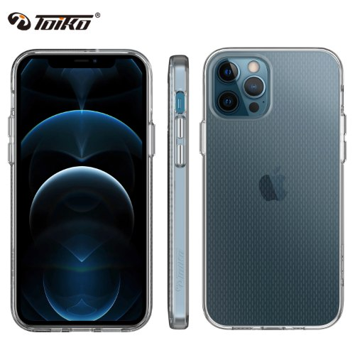CYCLONE CASE FOR IPHONE 12 PRO / IPHONE 12 כיסוי ציקלון קשיח שקוף