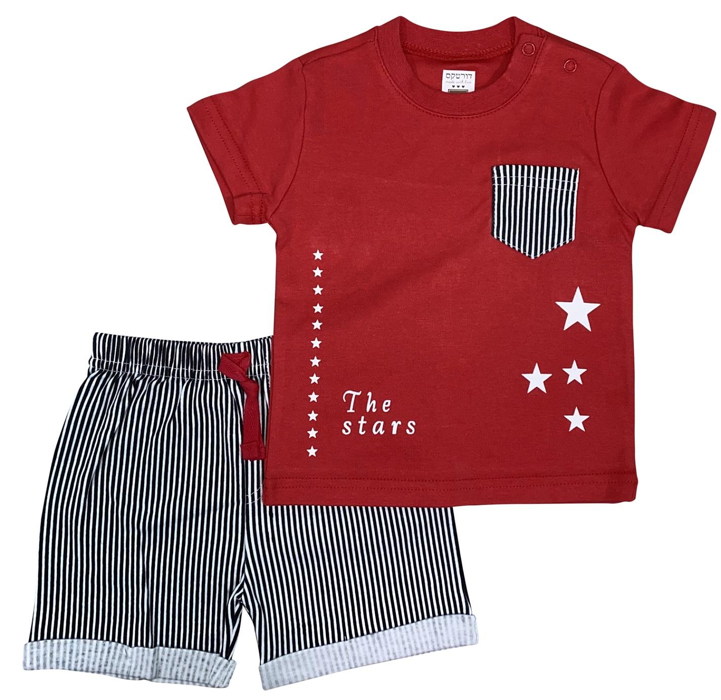 חליפה כוכבים אדום