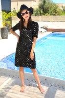 שמלת רונה שחורה