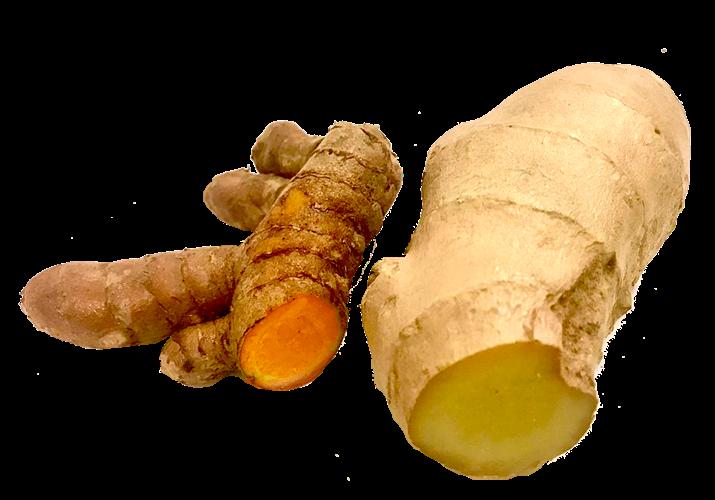 כורכום-ג'ינג'ר פורמולה אנטי דלקתית - אריזה של 8 כוסיות קפואות (כ160 גרם)