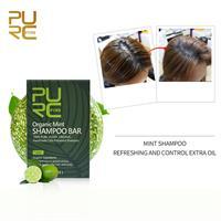 שמפו מוצק אורגני לרעננות השיער והקרקפת