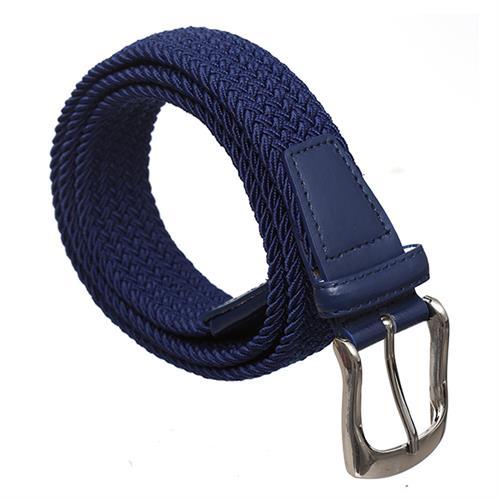 חגורה בד קלוע כחול