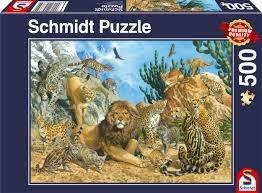 פזל 500 חל אריות נמרים חתולי בר