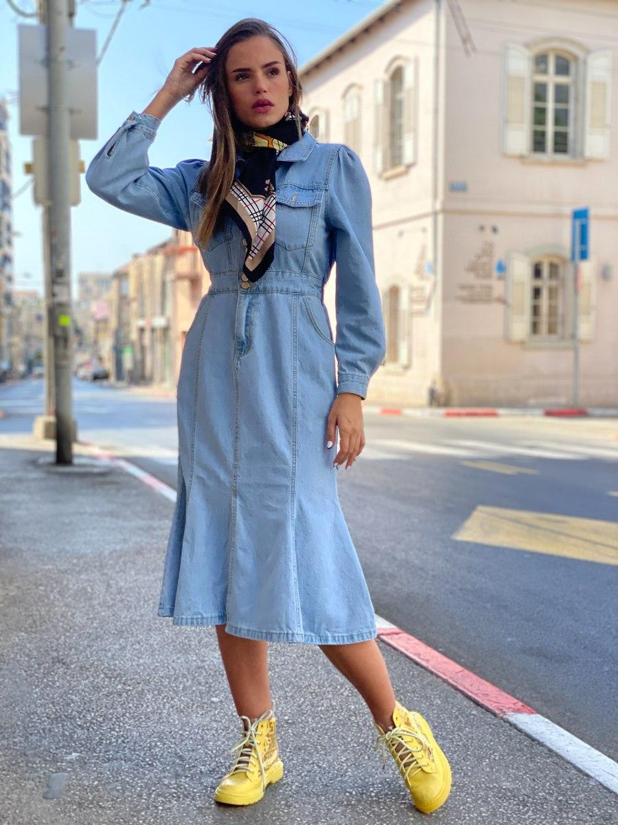 שמלת ג'ינס לארה