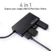 מפצל USB 4 יציאות USB 3