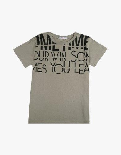חולצה טריקו מעוצבת כיתוב