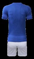 חליפת כדורגל כחול לבן-אדום