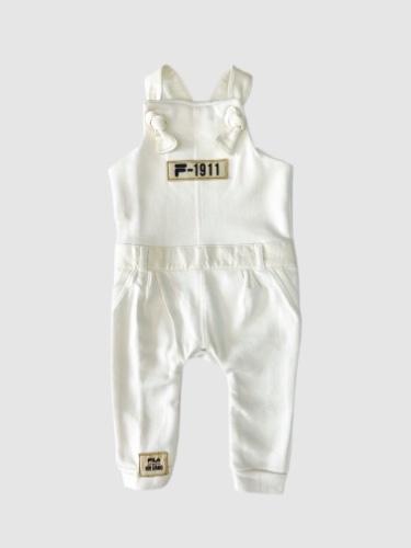 אוברול שמנת תינוקות בנות מידות 6 חודשים עד שנתיים
