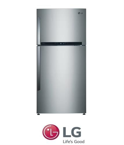 LG מקרר מקפיא עליון  דגם GR-M6481S נירוסטה