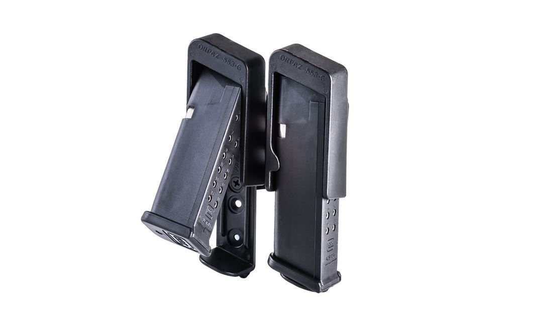 Reversed Break Away Double Magazine Carrier