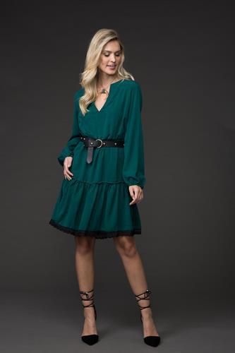 שמלת ג'ייזי - ירוק