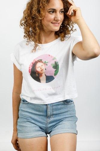 חולצת טישירט קרופ - נפאלית