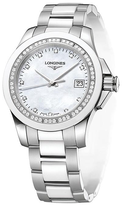 שעון יד אנלוגי נשים יהלומים LONGINES L32810877