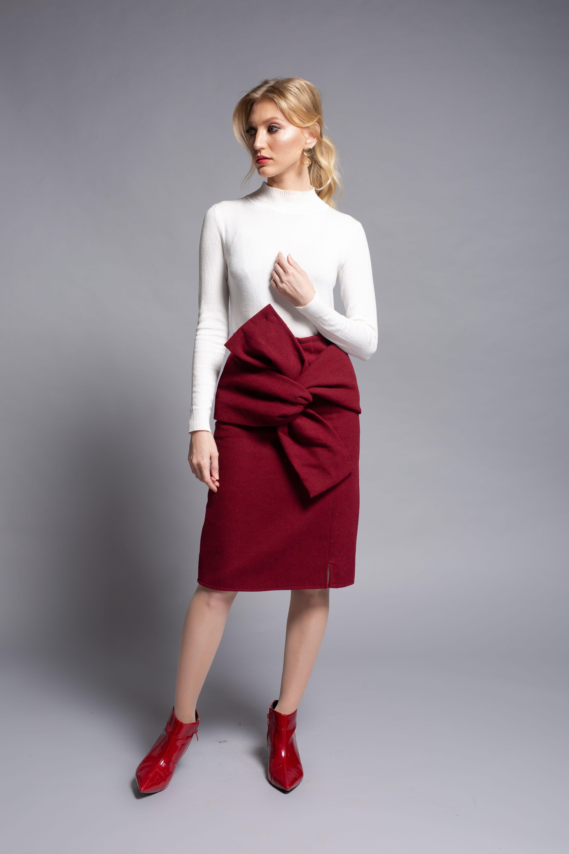 חצאית פפיון