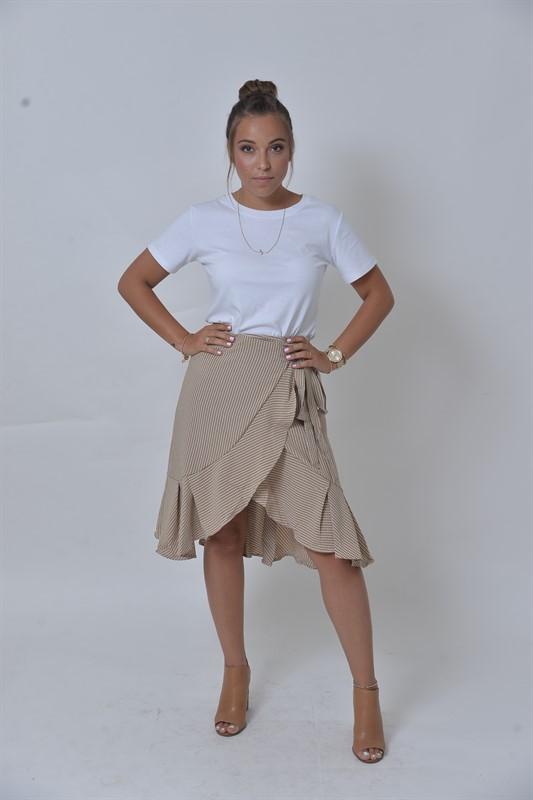 חצאית מעטפת שיק פריז