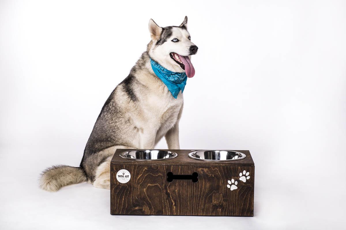 כלי אוכל ושתיה לכלב - צ'ייסר XL