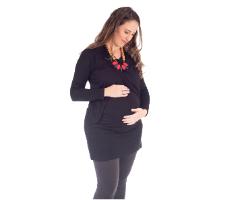 טוניקה להריון – גל שחור - מבית Imahot