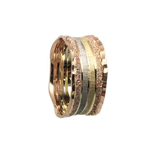 טבעת נישואין נשים זהב 14 קארט MY05170072011