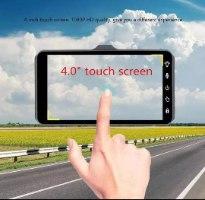 מצלמת רכב FULL HD 1080P עם מסך טאץ'