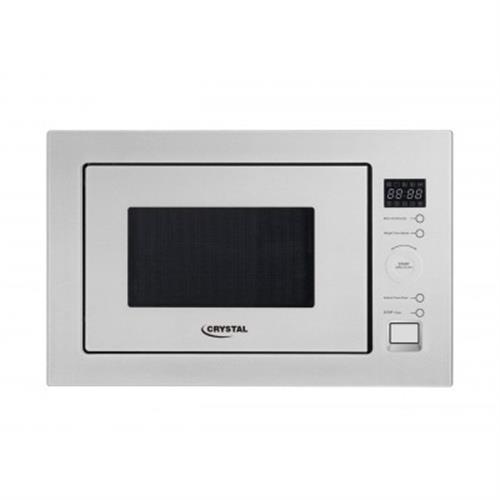 מיקרוגל בנוי 28 ליטר כולל גריל CRYSTAL דגם MW1128W צבע לבן