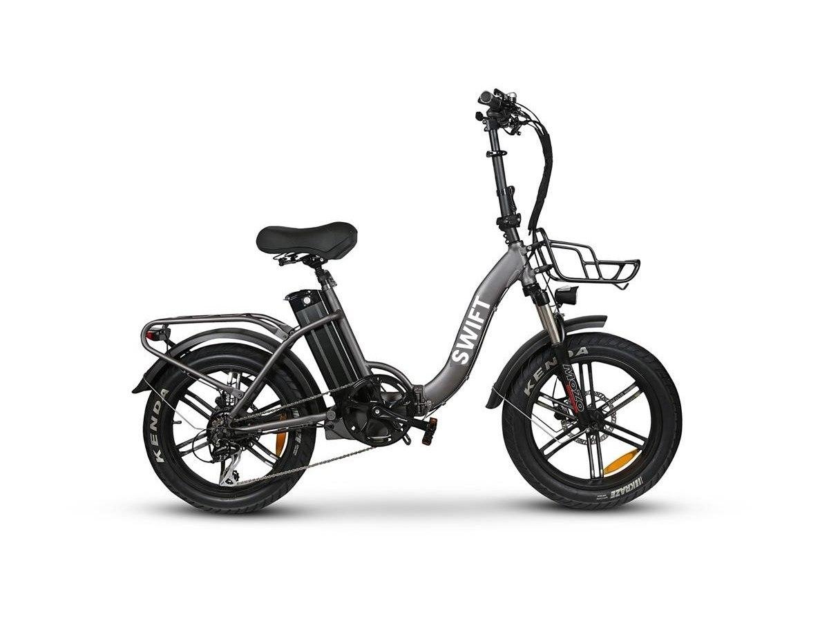 אופניים חשמליים  SWIFT FAT LOW STEP