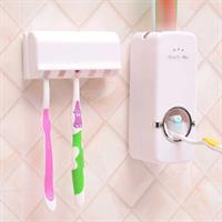 מתקן אוטומתי למשחות שיניים + מתלה ל-5 מברשות מתנה!