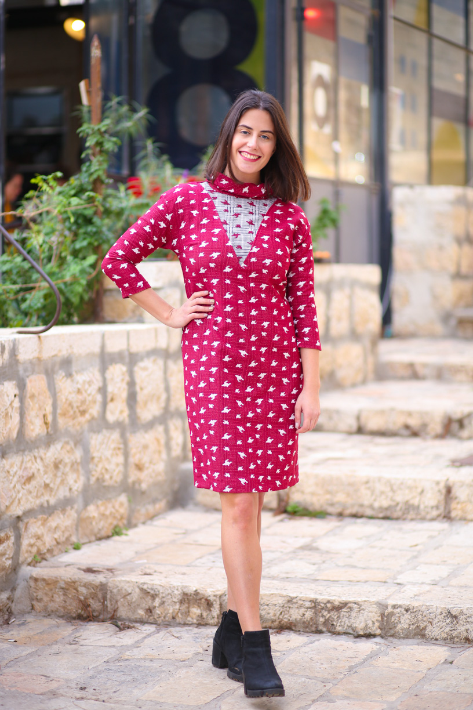 שמלת אירוס אדומה
