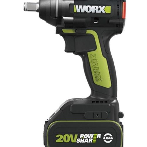 מברגת אימפקט/מפתח 2X4A 20V וורקס/WORX
