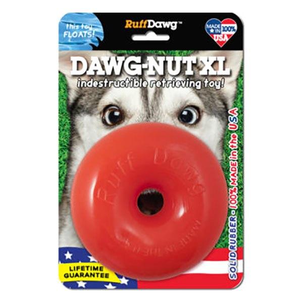צעצוע דונאט לכלבים עצוע בצורת דונאט בלתי ניתן להריסה מבית RuffDawg עם אחריות לכל הח RuffDawg ראף דוג