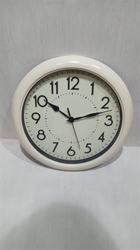 שעון קיר מעוצב שחור/שמנת MC1402