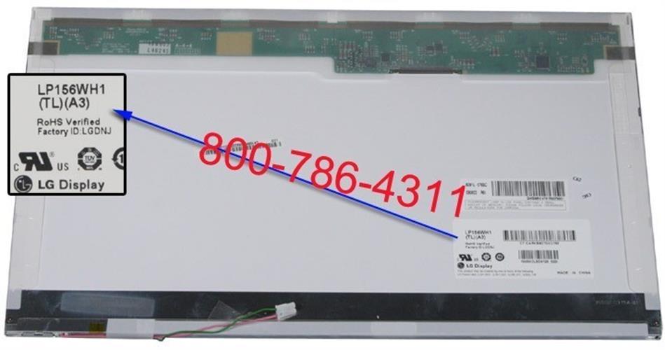 החלפת מסך למחשב נייד LP156WH1(TL)(A1) LG Philips 15.6