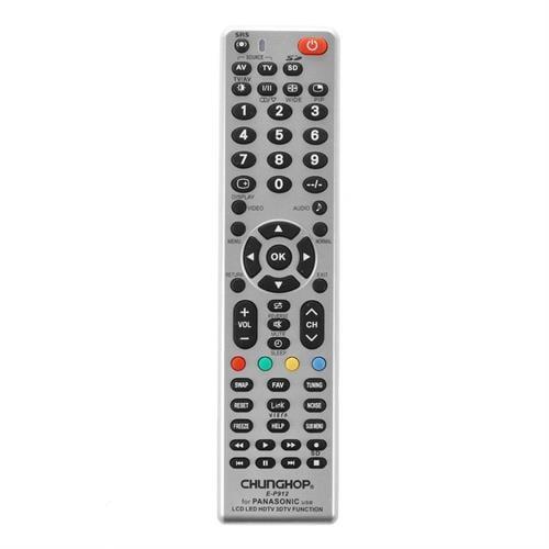 שלט מותאם מקורי המתאים לטלוויזיות פנסוניק- LCD/LED/HD/3D TV panasonic.