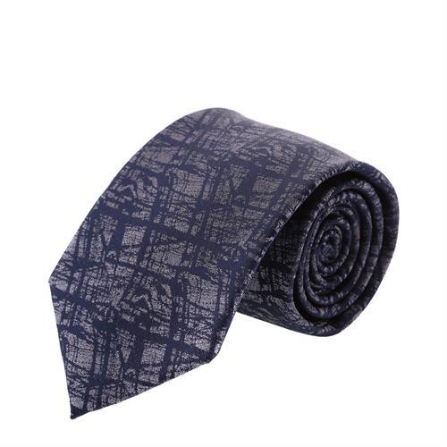 עניבה קלאסית אפור משולב