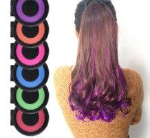 מכשיר לצביעת פסים בשיער (6 צבעים בחבילה)