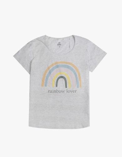 חולצת טריקו raimbow lover