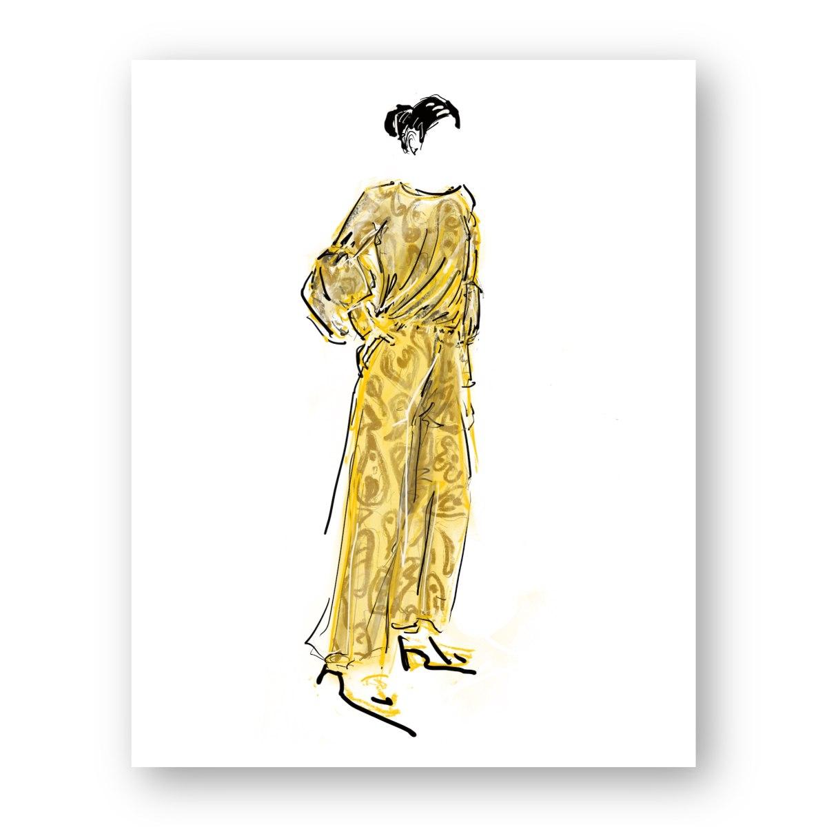 איור אופנה #7