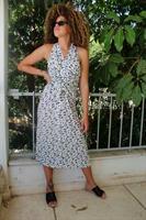 שמלת מכופתרת בירד