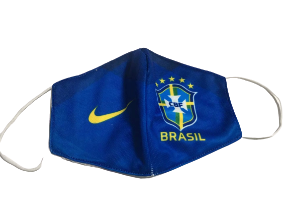מסכת פנים מעוצבת נבחרת ברזיל