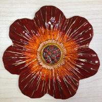 פרח בינוני גדול לתליה 15.5 סמ'