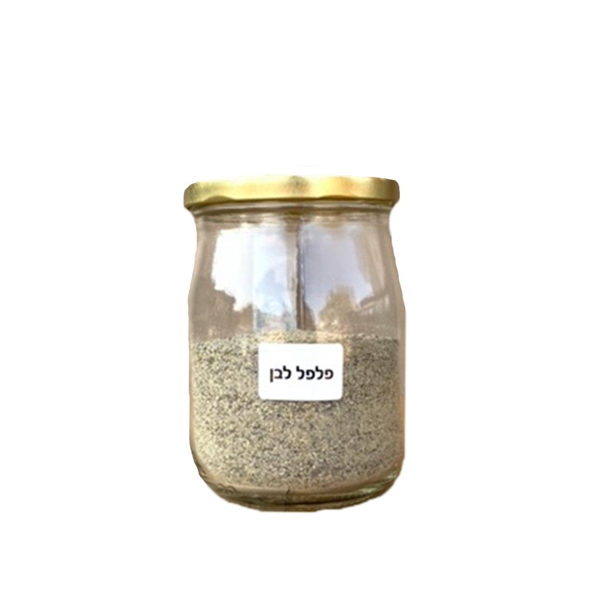 צנצנת פלפל לבן 200 גרם