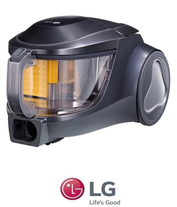 LG שואב אבק קומפרסור + ללא שקית דגם VK-5320NHT