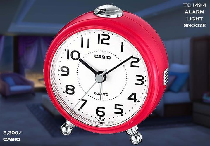 שעון מעורר מחוגים נודניק קסיו TQ-149