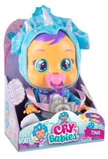 קריי בייביז - בובת תינוק בוכה  טינה cry babies