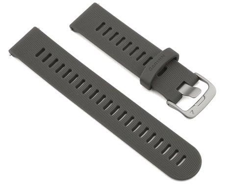 רצועה מקורית לשעון גרמין Garmin Quick Release Bands 20 mm אפור