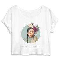 חולצת טישירט קרופ - הלוחמת האינדיאנית