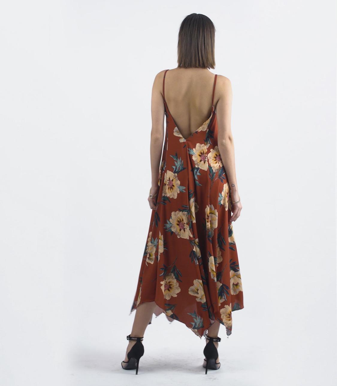 שמלת ליאל - פרחונית