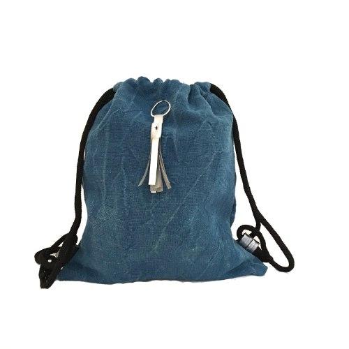 תיק שק כחול